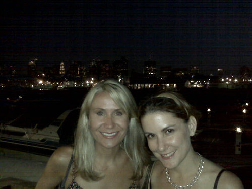 mary and mar / Boston skyline