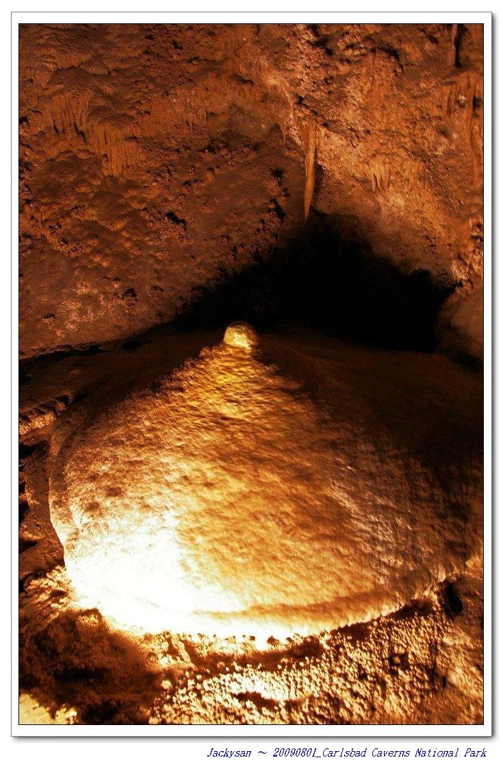 新墨西哥洲 -- 卡爾斯貝洞窟國家公園 - 鐘乳石