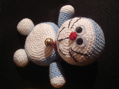 Crochet Doraemon Amigurumi : The world's best photos of crochet and doraemon flickr hive mind