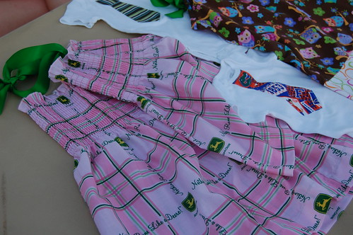 OMFG John Deere fabric dress