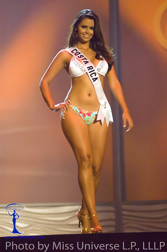 Miss Costa Rica 2009 Jessica Umana in BSC Swimwear