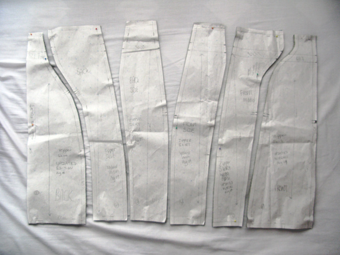 segment skirt