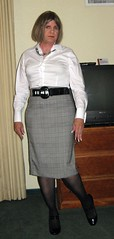 Love Belts (krislagreen) Tags: skirt tgirl transvestite heels crossdresser crossdress tg xdresser