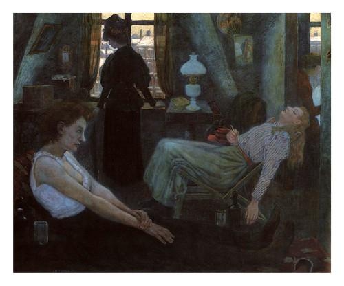 010-Lunes por la mañana 1898, Berlin, Märkisches Museum-Hans Baluschek