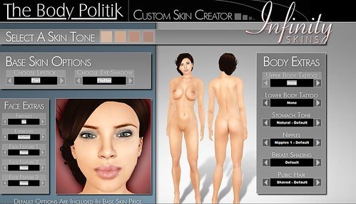 The Body Politik - Custom Skin Creator