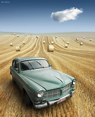 Nowhere to be Found (Ben Heine) Tags: voyage travel summer cloud texture field car composition vintage season print lost freedom drive volvo photo 3d spring corn warm poem ride belgium nikond70 modernart surrealism perspective champs harvest happiness voiture oldschool digitalpainting crop carro layers oldcar t nuage copyrights 2d brand depth reproduction exclusive 4d infinite perfection botte couches foin sunnyday renew oldfashioned volume wallonie bl volvoamazon chaleur wagen profondeur vieillevoiture smudgetool compositeimage rcolte pome petersquinn cultiver benheine braives alemdagqualityonlyclub freedancephotographers flickrunitedaward infotheartisterycom stunningphotogpin