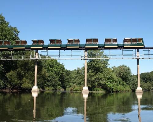bridge k350 bronx zoo wild asia monorail bridge north loop over