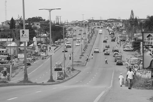 Approaching Kumasi...