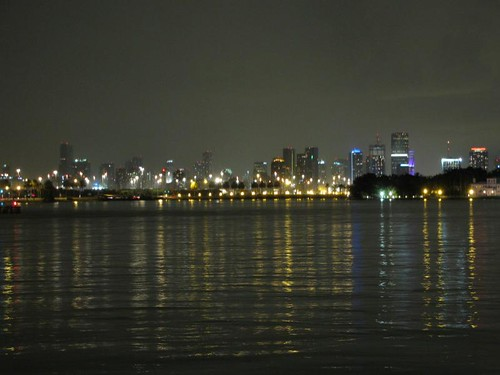 city centre skyline from south beach