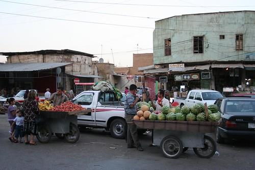 Erbil Qaysari Bazar Market Iraqi Kurdistan