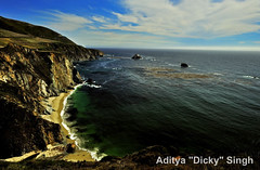 ADS_USA_000005494 (dickysingh) Tags: california travel sea usa india beach water america pacific outdoor bigsur roadtrip cliffs aditya singh dicky adityasingh ranthamborebagh theranthambhorebagh wwwranthambhorecom