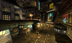 NOMOS Action Roleplay Game in Gothic Futuristic City (Liqueur Felix) Tags: city game action gothic futuristic nomos roleplay secondlife:x=165 secondlife:z=53 secondlife:y=244 secondlife:resident=liqueurfelix mixoom secondlife:region=nomos