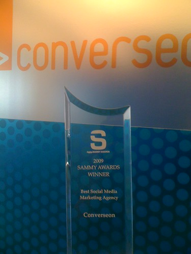 Best Social Media Agency: Converseon - 2009 SAMMY Awards