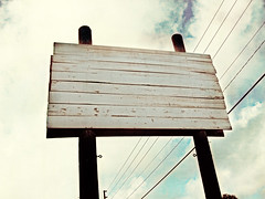 262:365 - blank (cavale) Tags: sky 3 sign clouds boards tampabay florida billboard wires blank pointandshoot weathered saintpetersburg portfolio posts project365 cavalephotonet