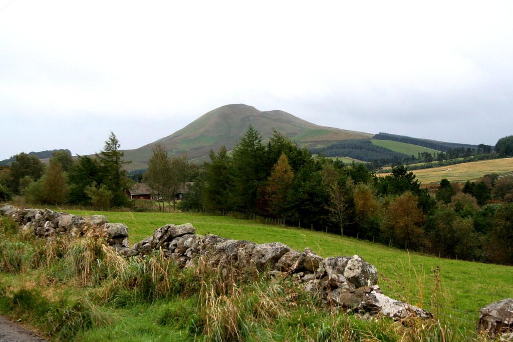 Mendick Hill from near Siller Holes