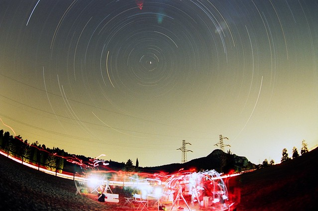 Star Trails in Castelletta