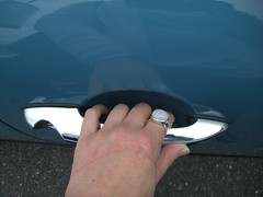 Mini Cooper door handle