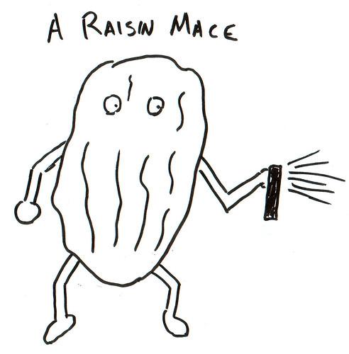 366 Cartoons - 244 - A Raisin Mace