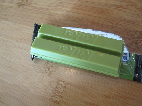 Geen tea Kit Kat - gift from JF