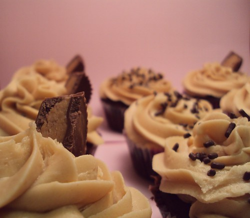 peanut butter cup-cakes