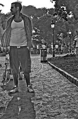 (► artecco ®) Tags: barcelona gay portrait españa hairy man colour sexy men guy luz nature pecs look naked beard greek blackwhite spain eyes raw skin muscle retrato guys sensual vision ojos marble honesty mirada 2009 hombre fit barba intimacy softlight hombres marmol manhood desnudo intimidad tenue piel ternura sincero fragilidad diafano
