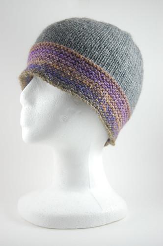 Gray Noro Hat 03