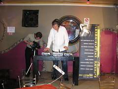 Jarrod filiming DJ Al doing making his music!