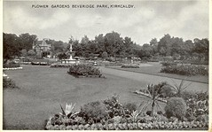 Kirkcaldy, Flower Gardens Beveridge Park 1939