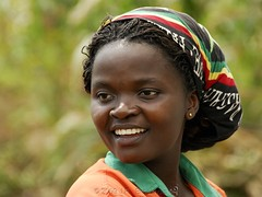 The Pump Attendant (Makgobokgobo) Tags: africa portrait people uganda karuma
