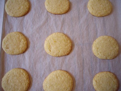 Lemon Ginger Wafers