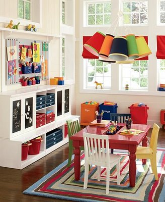 Potter Barn playroom ideas
