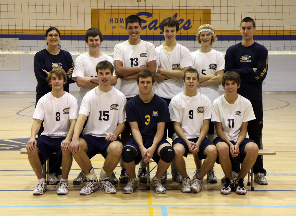 Senior Boys Volleyball Team