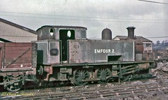 Hudswell Clarke 1877 NCB Broomhall EMFOUR 2 14 Feb 1965 (pondhopper1) Tags: industrial railway steam ncb uksteam 060st hudswellclarke