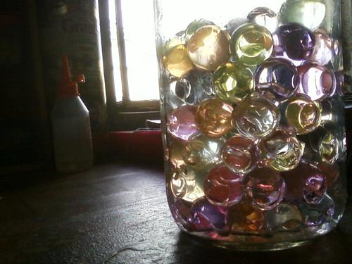 lamparas cn botellas de absolut!!(hechas por mi) hazte una!