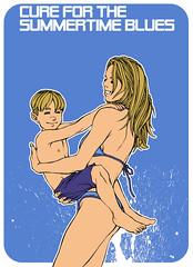 Cure for the Summertime blues (Eddie_Gomez) Tags: etc quadrinhos ilustraes infantis modaeestampas