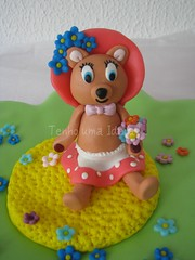 Ursa Teresa (Tenho uma Ideia!...) Tags: cake bolo picnik