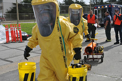 HAZMAT exercise (Presidio of Monterey: DLIFLC & USAG) Tags: california rescue training firedepartment firefighters hazmat chemical presidioofmonterey dliflc