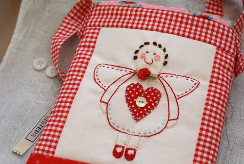 red angel bag