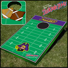 East Carolina Bean Bag Toss Game