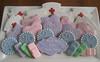 School Nurse Retirement Platter (Songbird Sweets) Tags: hearts sugarcookies bandaids nursecookies nursecaps songbirdsweets