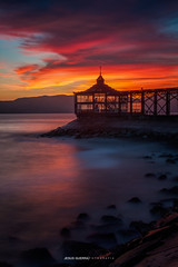 Te Pinté una tarde (Jesus Guerra foto) Tags: color longxposure lapunta travel colorful yellow sunset sunrise landscape night canos 7d shadow lights peru lima callao sky clouds beauty beautiful