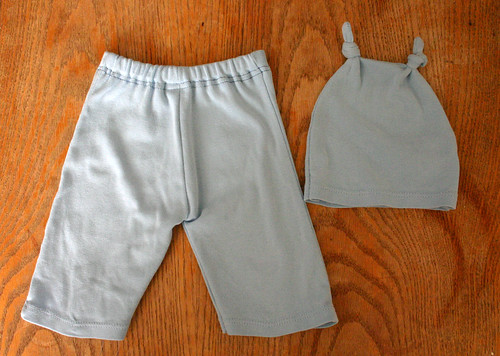 Upcycled baby pants
