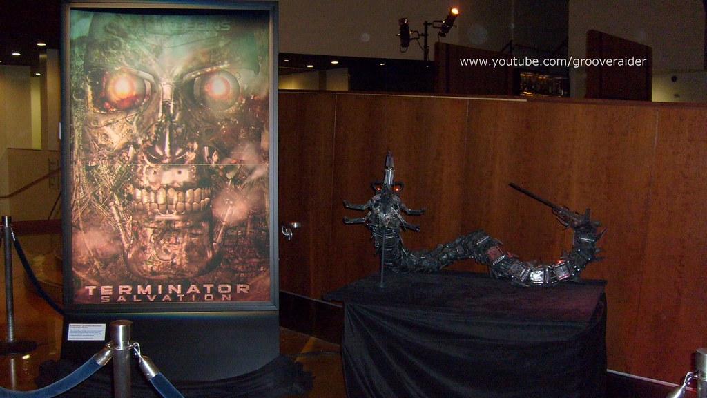 Arclight Theatre Hollywood film prop presentation: Terminator Salvation