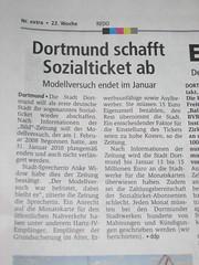 Dortmund schafft Sozialticket ab