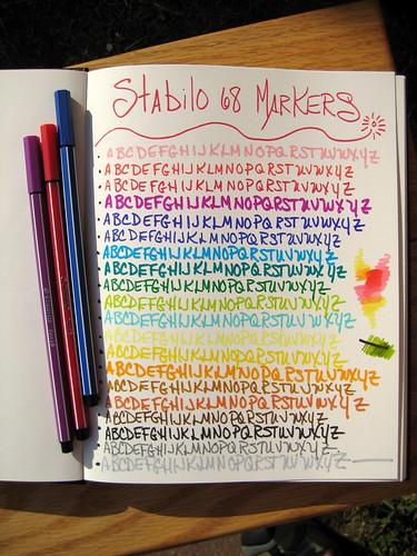 Stabilo 68 Markers