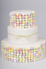 Marshmallow Cake (cakestyleTV) Tags: birthday wedding party cake modern fun candy marshmellow tier lollie