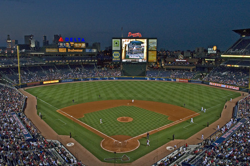 Turner Field At Night