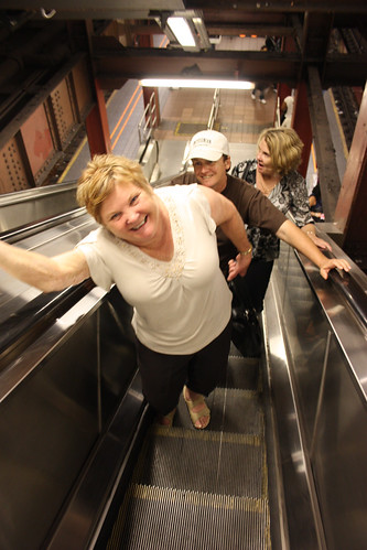 Walking around the Metro
