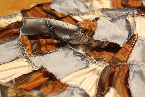 patchwork skirt revés
