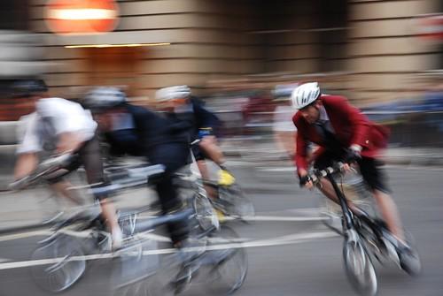 Folding bike race2